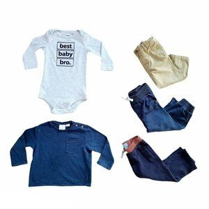 Lot of Baby Boy Tops & Pants 18 - 24 month